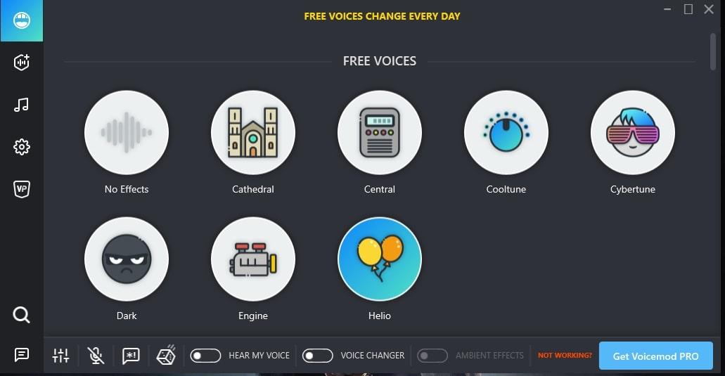 Voicemod best Free voice modulator