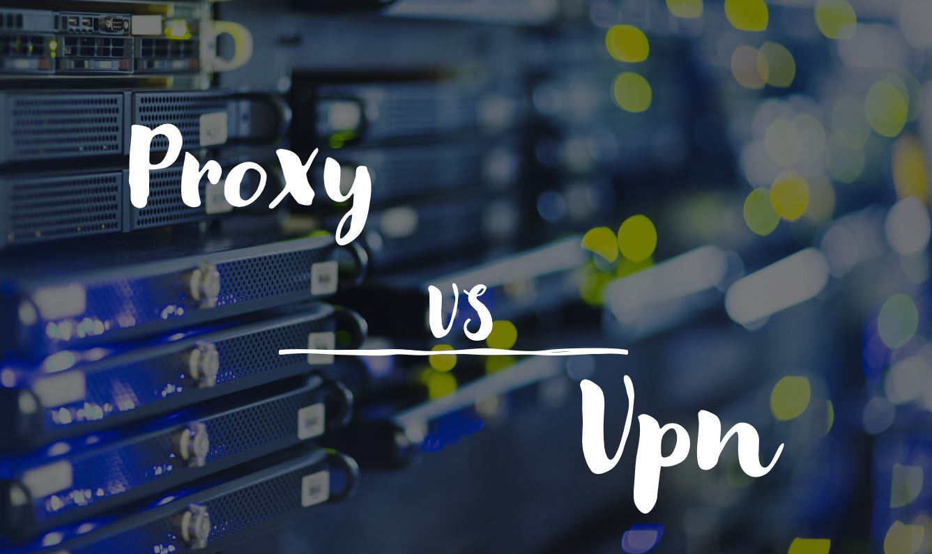 Difference between Proxy and VPN server min