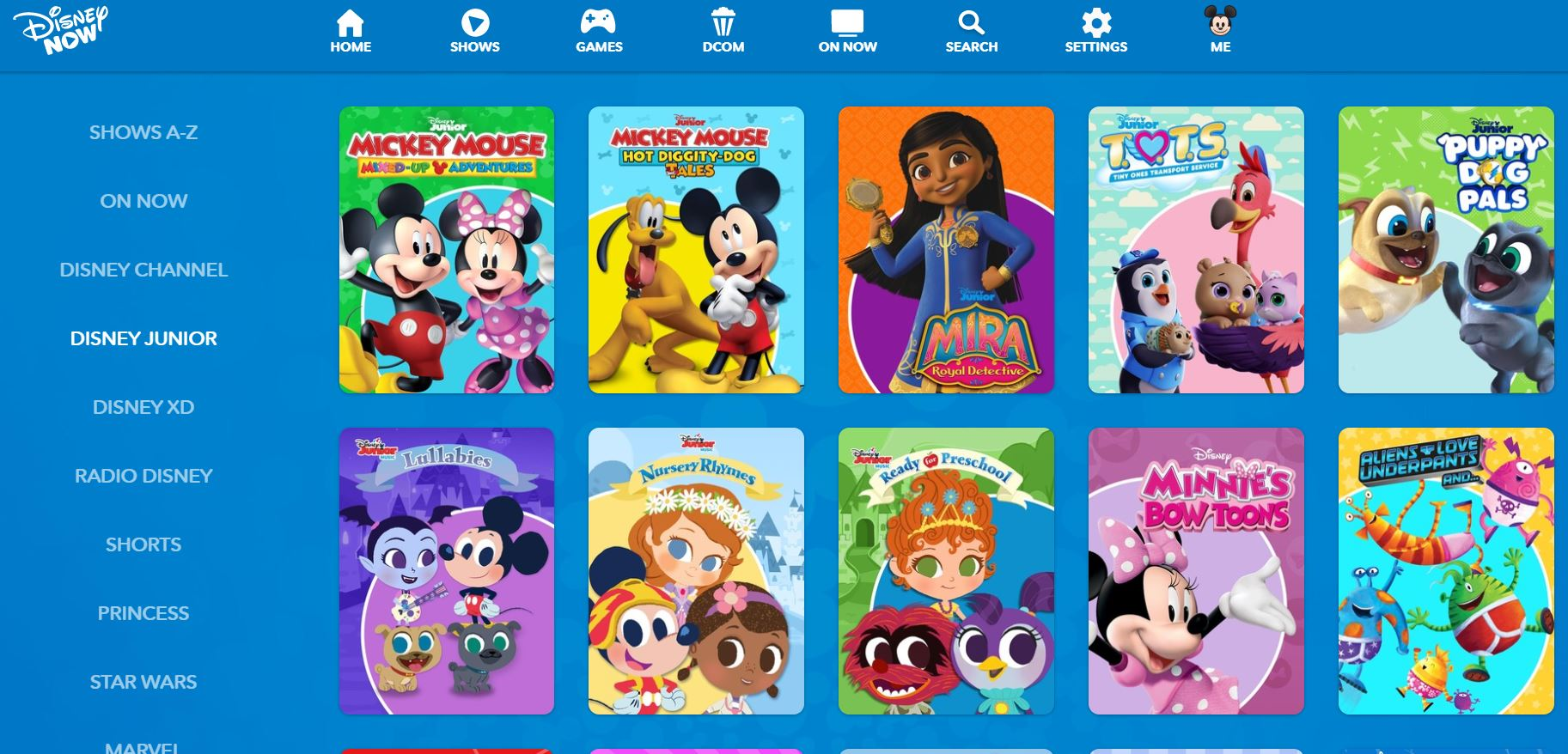 Disney Junior best website to download free cartoon series