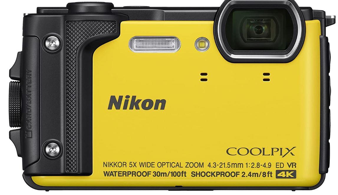 Nikon Coolpix W300 Waterproof Underwater Digital Camera with TFT LCD min