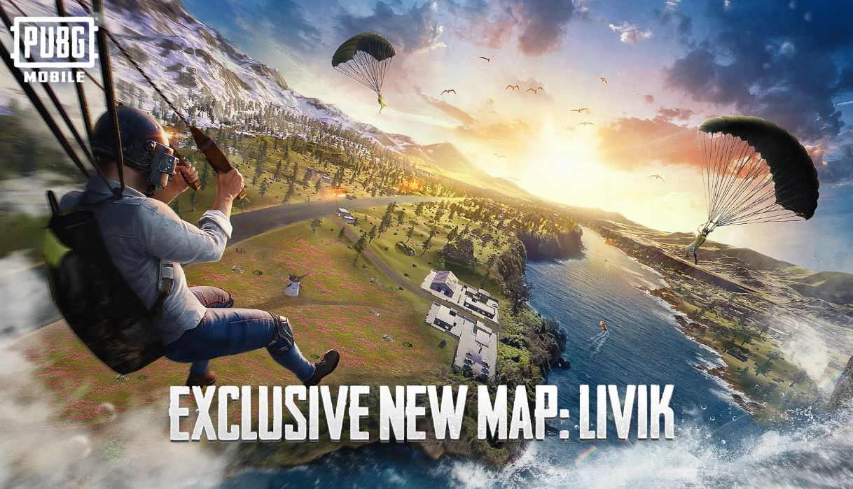 PUBG MOBILE NEW MAP LIVIK