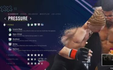 UFC 4 of EA Sports brand new career mode trailer is out