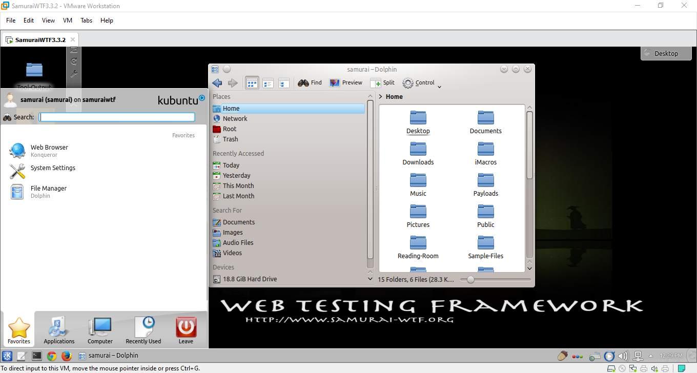 Web Testing Framework operating system start booting