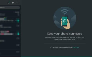 WhatsApp Web dark mode 40