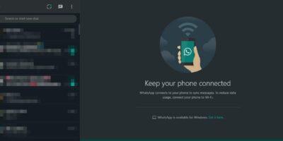 WhatsApp Web dark mode 40