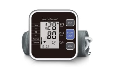 best Blood pressure and Heart monitor device in India min