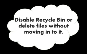 how to permanently delete files windows 10 and bypass the recyle bin min