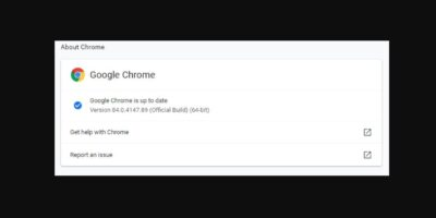 major changes for in Chrome version 84 min
