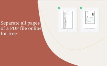 separate all PDF pages from a file min