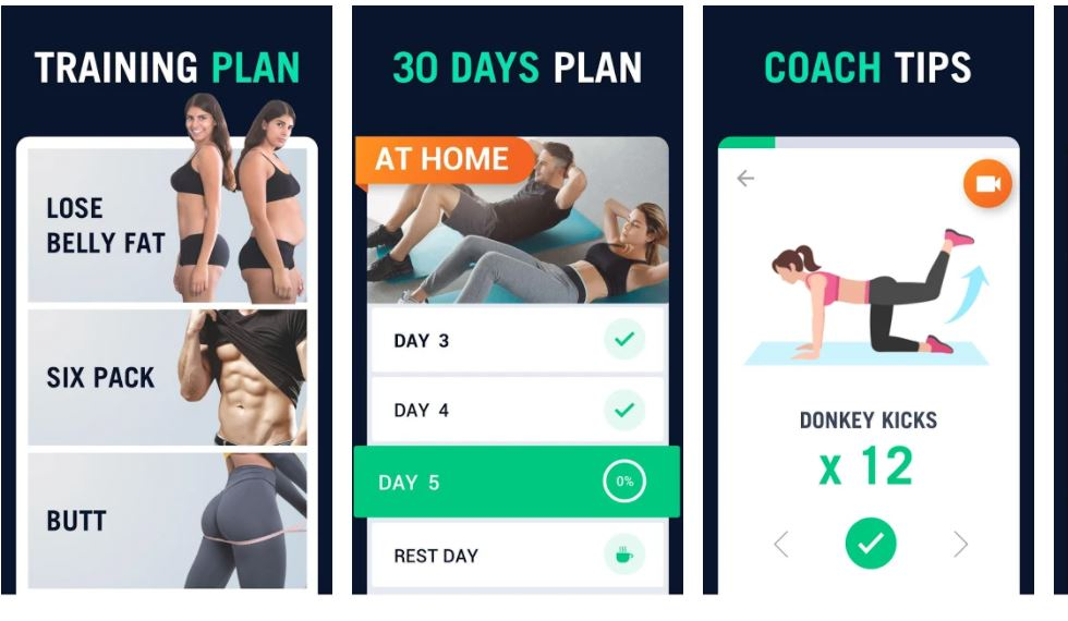 30 Day Fitness Challenge Workout at Home min