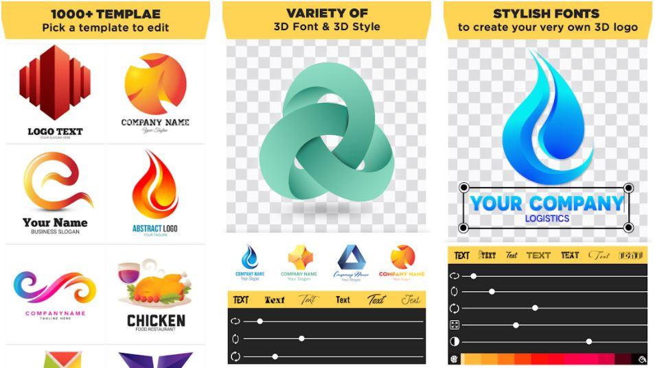 3D Logo Maker Create 3D Logo min