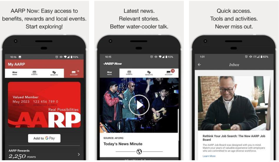 AARP Now App min