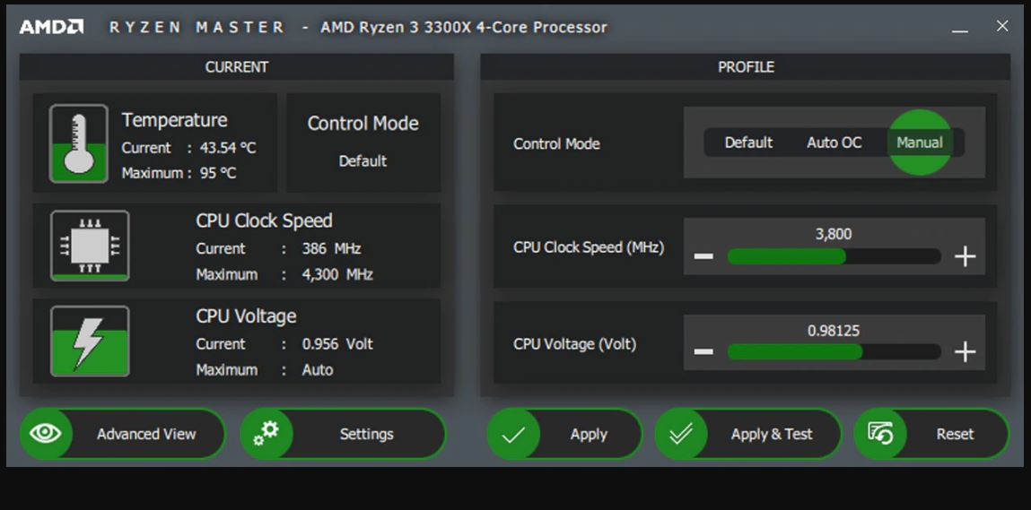 AMD Ryzen Master Utility for Overclocking Control min