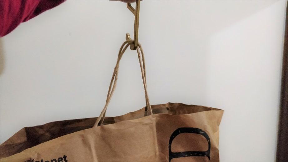 Bag on ZAAP Touchless Devcie Covid min