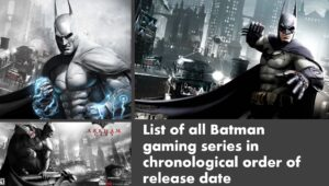 batman arkham games in chronological order