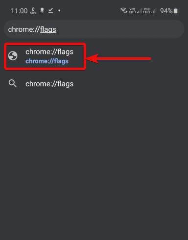 Enable new tab strip via chrome flag