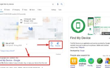 Google Find my Device 80