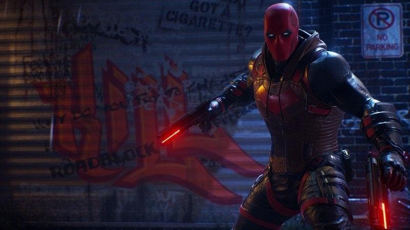 Gotham Knights offcial Batman game screenshot min