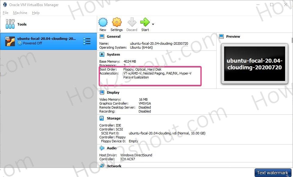 Hyper V paravirtualization for VirtualBox