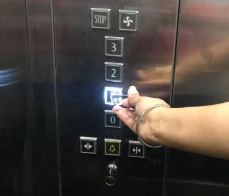 Lift usage min