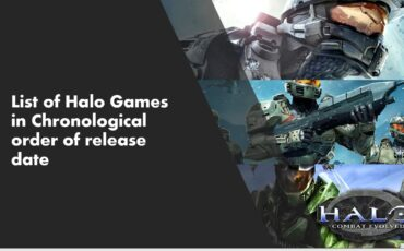 List of Halo Games Chronological order release date min