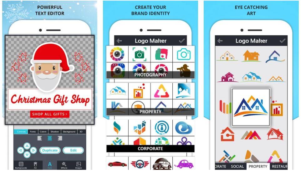 Logo Maker Icon Maker Creative Graphic Designer min