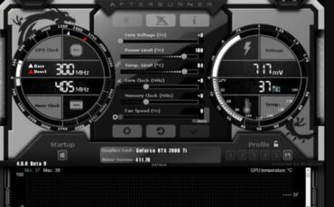 MSI after burn best GPU overclocking software min
