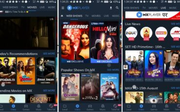 MX Player Free best web series streaming app India