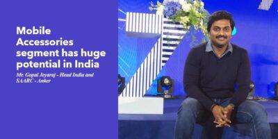Mr. Gopal Jeyaraj Head India and SAARC Anker interview