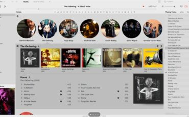 Music Bee Player for best player music with good interface min