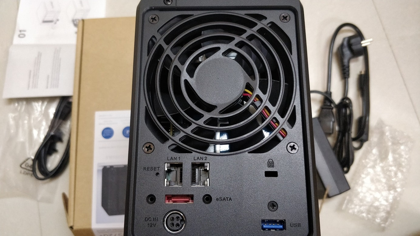 NAS box fan
