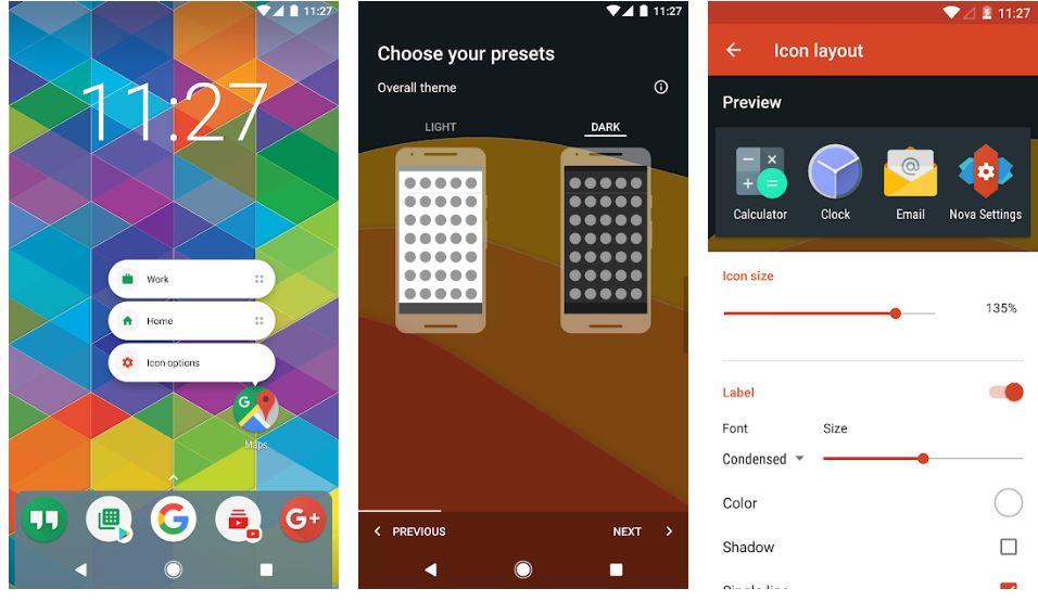 Nova Launcher best launcher Android min