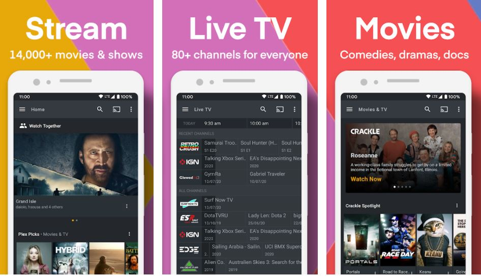 Plex Stream Free Movies Shows Live TV and more min