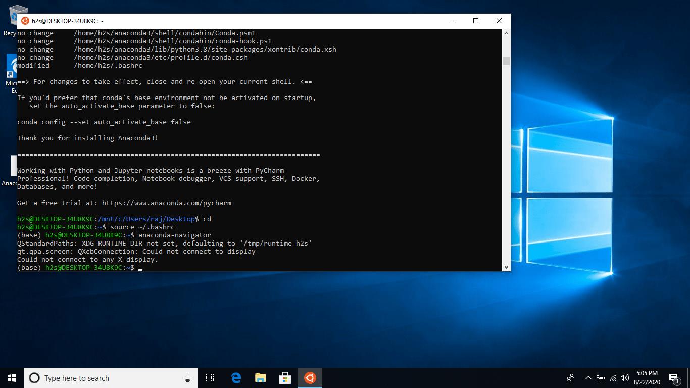 Running GUI Applications on Windows WSL 10 min