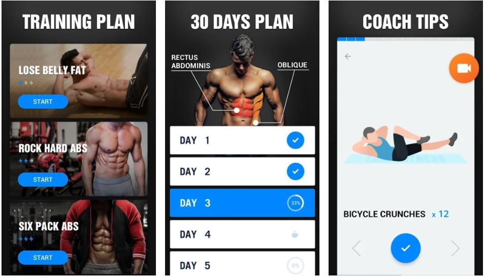 Six Pack in 30 Days Abs Workout min