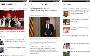 The Hindu news app 2020 min