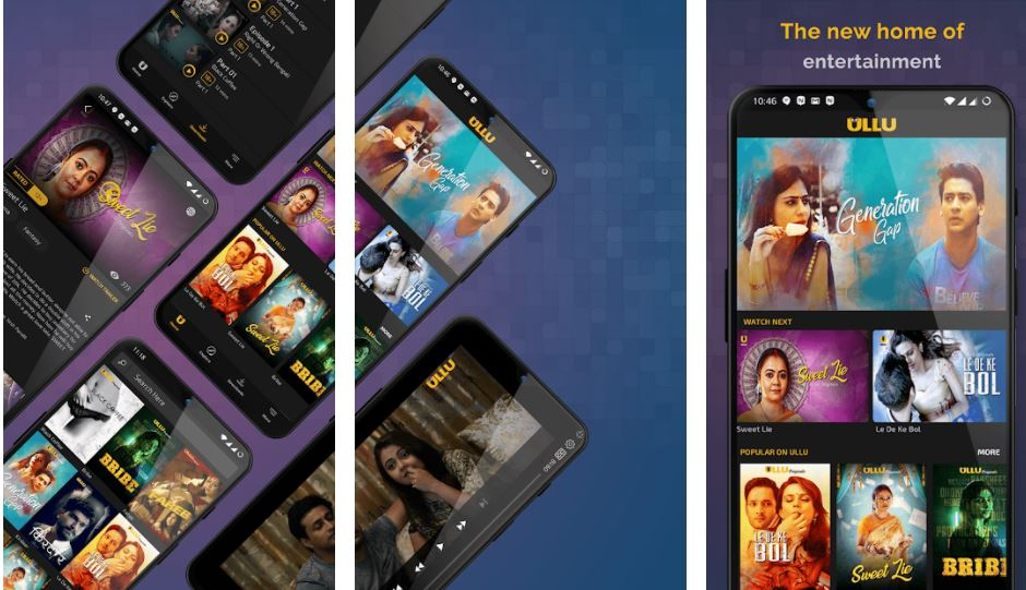 Ullu Adult web series streaming App in India min