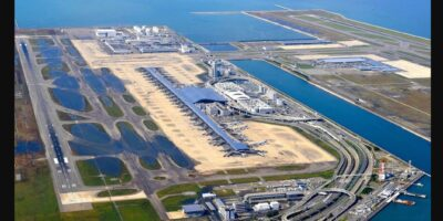 What is Kansai Airport and where is it Located