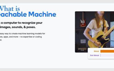 What is Teachable Machine min