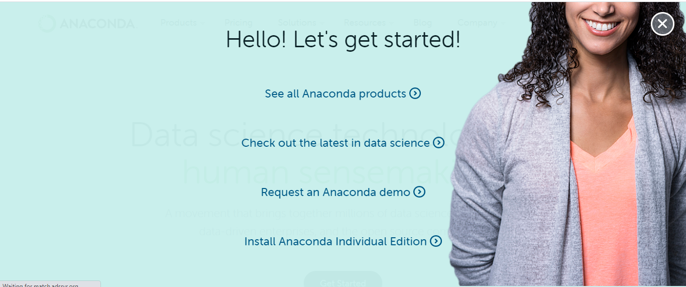 Download anaconda for Windows, Linux and macOS