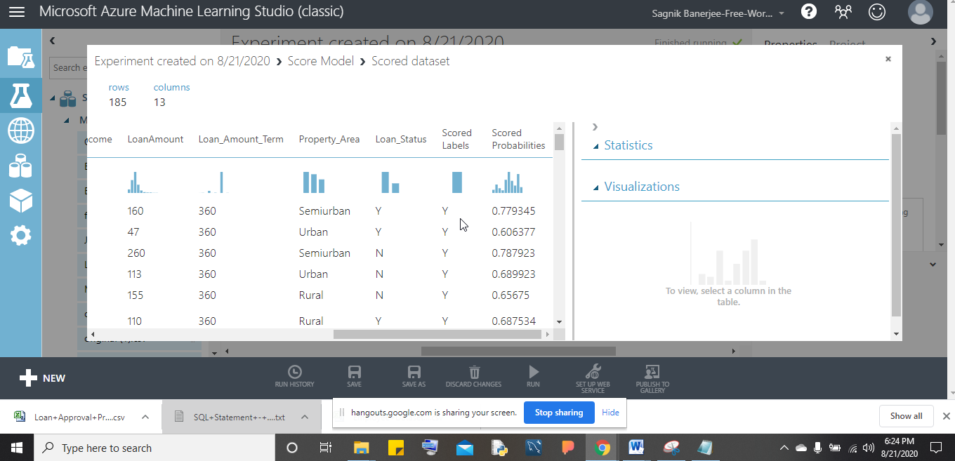 Microsoft Azure Machine Learning Studio (classic)
