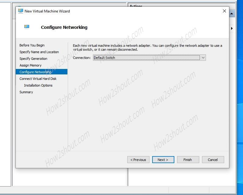 Windows XP Virtual Machine Network