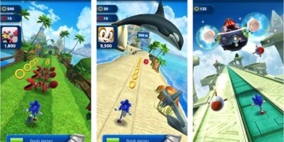 sonic Dash enfless running arcade game for android min
