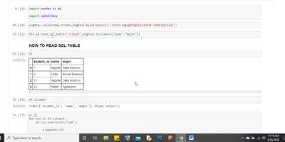 SQL Alchemy with pandas