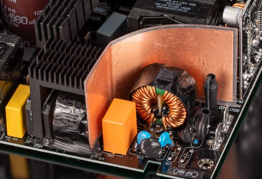 EMI Filter Circuit Insulator with copper