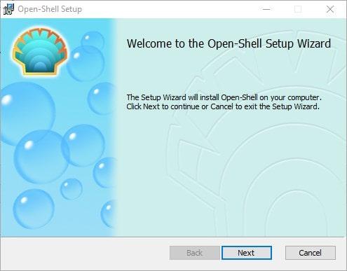 Open Shell for WIndows 10
