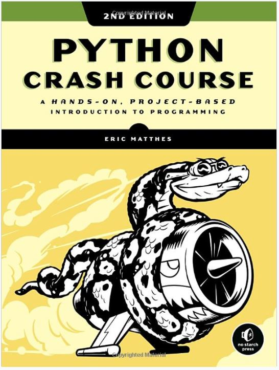 Python Crash course book for beginners min