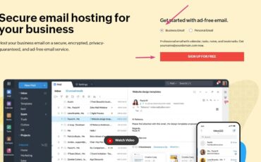Sign up for Free Business Email Addesss