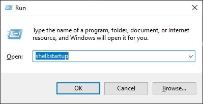 Windows 10 startup folder to autostart programs