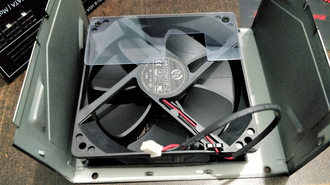 XPG 650 CR Fan min